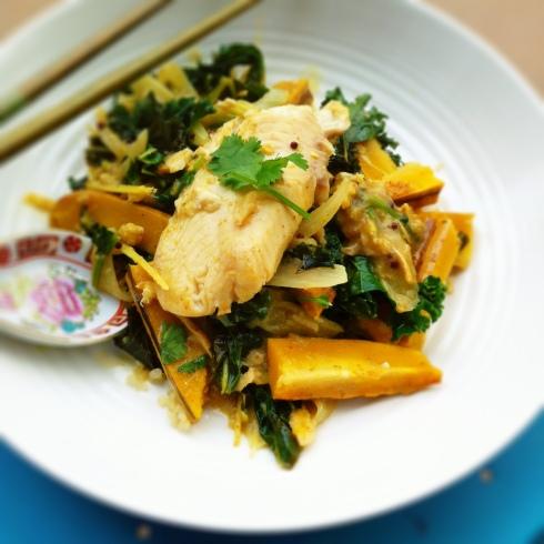 Tilapia Fish Coconut Curry